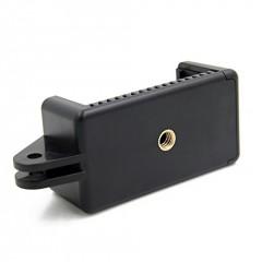 Kẹp điện thoại lên gậy chụp hình GoPro 7 6 5 Black Sjcam Yicamera