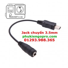 Cáp Jack chuyển đổi Mini Usb sang 3.5mm cho GoPro