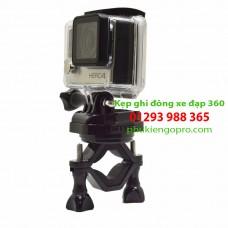 Kẹp ghidong xoay 360 độ GoPro Sjcam Yi Sony Actioncam