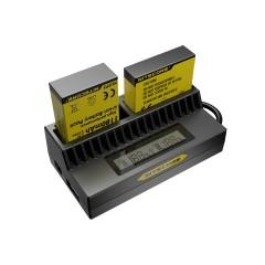 Sạc pin đôi chính hãng Nitecore cho GoPro 3+ 4
