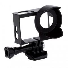 Frame khung nhựa cho GoPro có mỏ che nắng