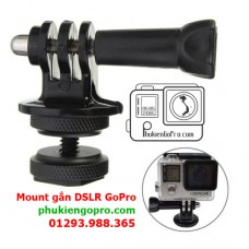Mount GoPro gắn DSLR Camera