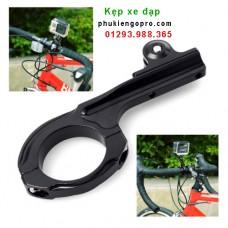 Kẹp nhôm ghiđông xe đạp dài cho GoPro Hero 7 6 5 Sjcam Yicamera