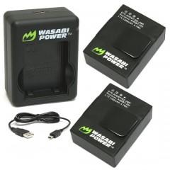 Pin sạc Wasabi cho GoPro 3 3+ Chính hãng 1280mah