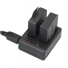 Sạc pin đôi cho Sjcam Sj4000 Sj5000 M10