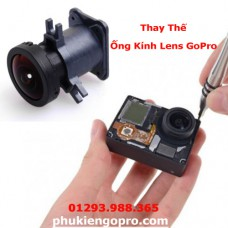 Thay ống kính lens GoPro Hero 3 3+ 4 SJcam Xiaoyi