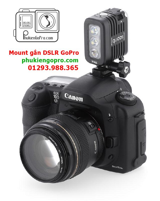 Mount GoPro găn DSLR